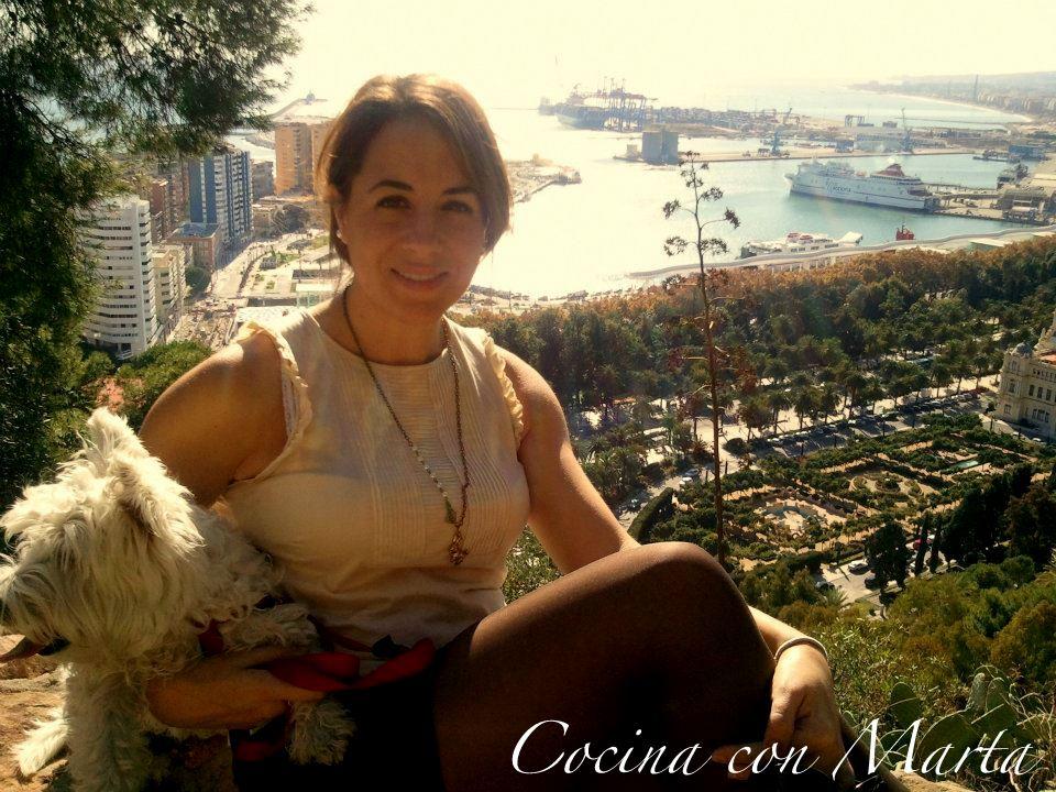 Málaga. Cocina con Marta.