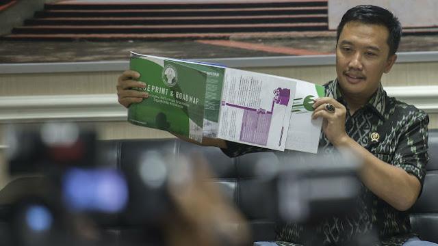 Rencana Bertemu FIFA, Menpora Tak Jamin Akan Cabut SK Pembekuan PSSI