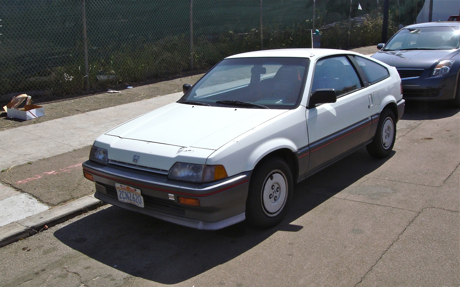 THE STREET PEEP: 1987 Honda Civic CR-X