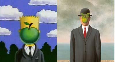 Syn człowieczy, René Magritte