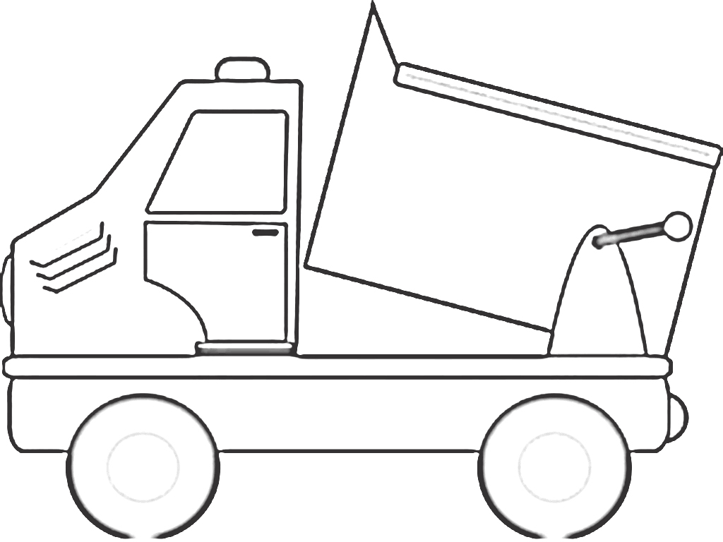 Truck Coloring Pictures