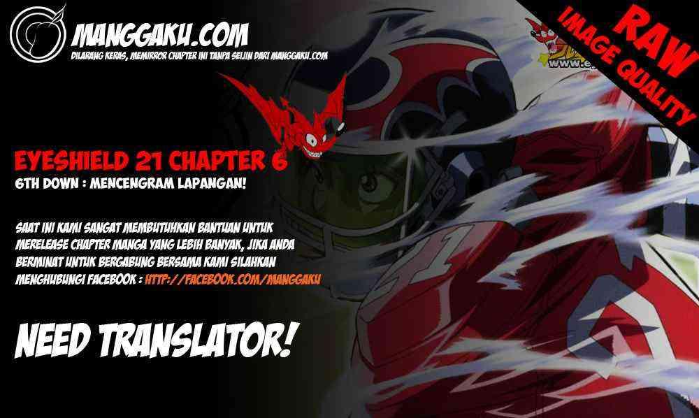 Komik eyeshield 21 006 - mencengkram lapangan 7 Indonesia eyeshield 21 006 - mencengkram lapangan Terbaru 0|Baca Manga Komik Indonesia|