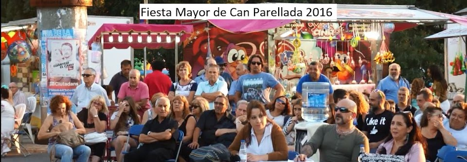 FIESTA MAYOR DE CAN PARELLADA 2016