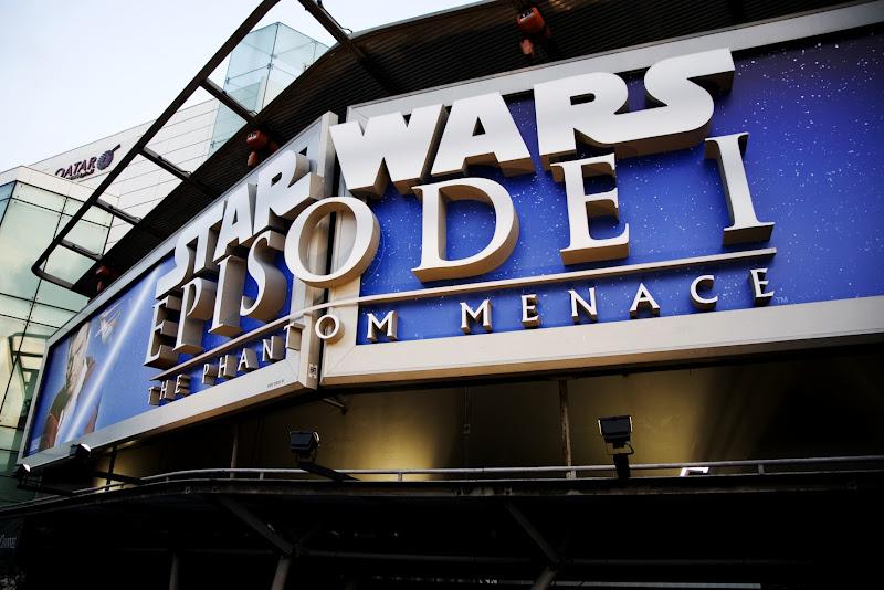 Star Wars Episode I 3D billboard