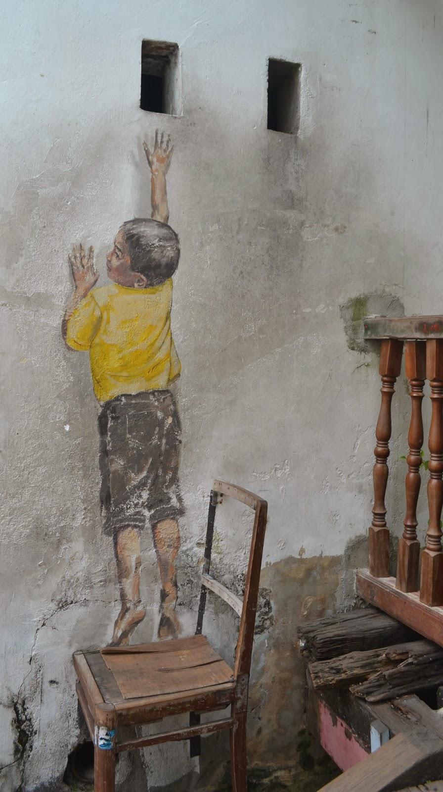 street art georgetown penang Malaysia