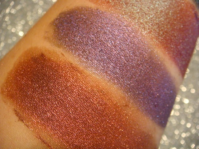 Swatches Sombras Minerales ChriMaLuxe Minerals
