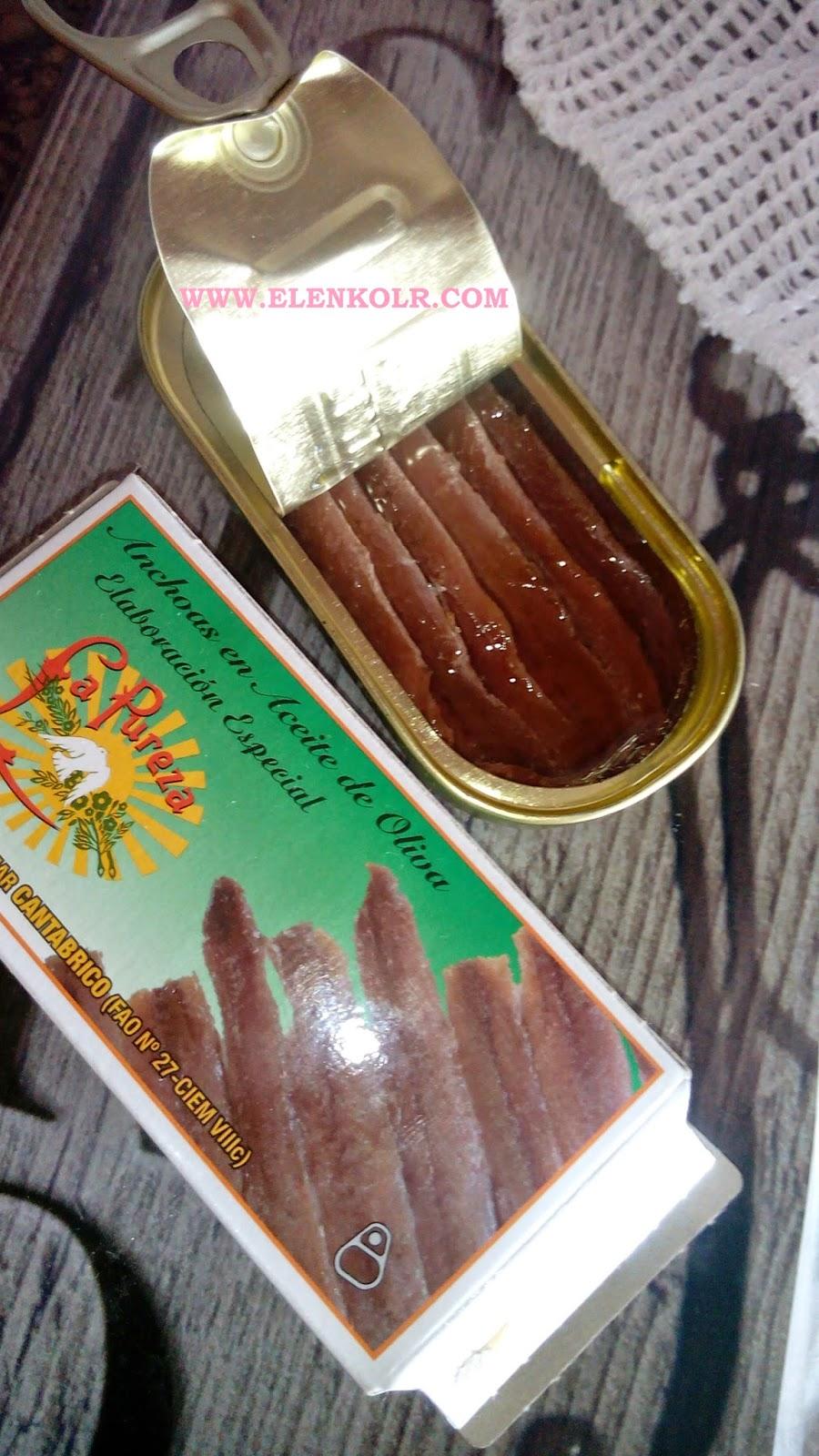 receta hojaldre con queso y anchoas