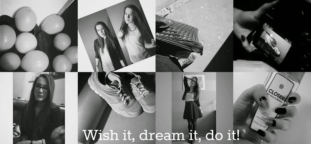 Wish it, dream it, do it!