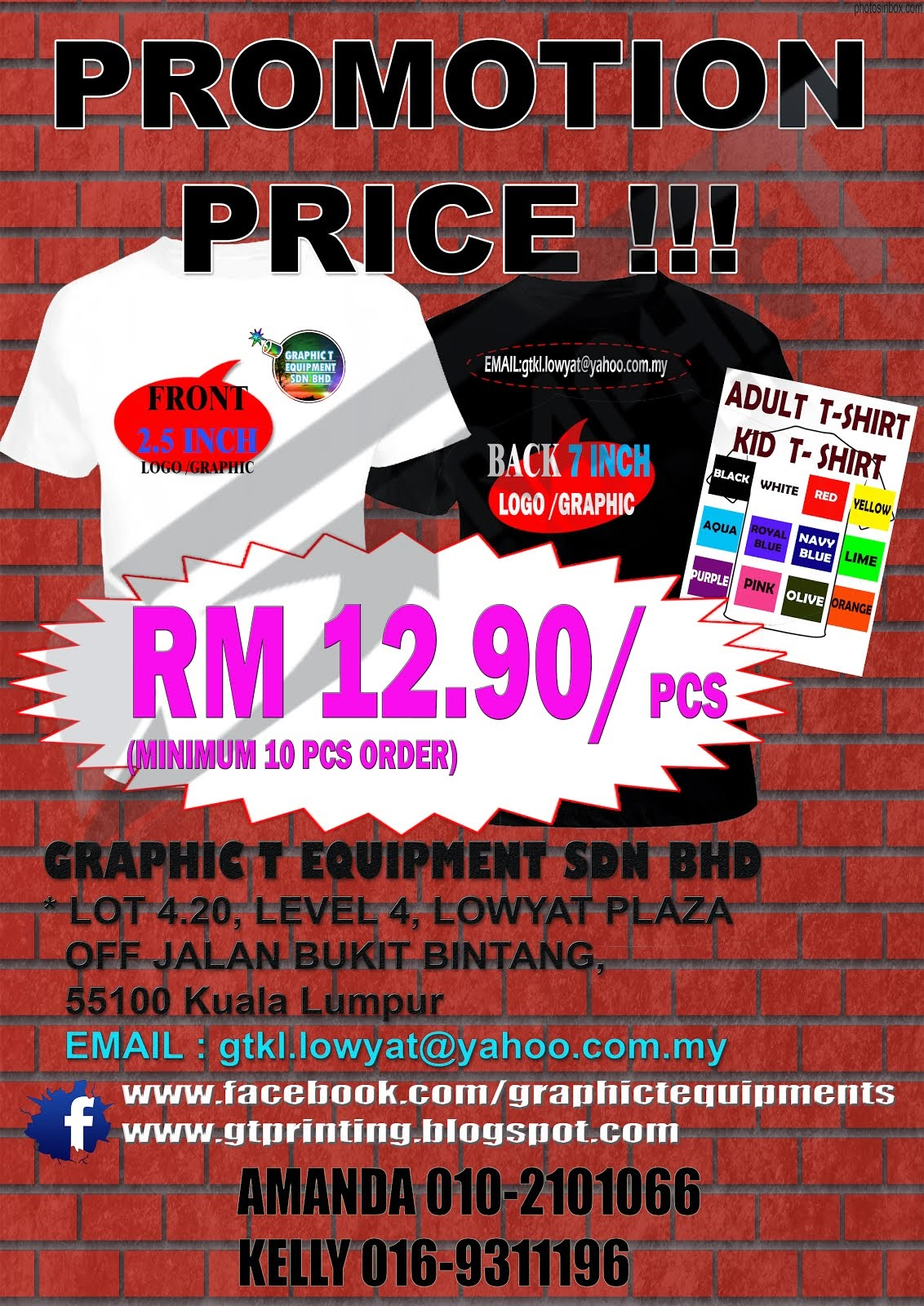Color printing lowyat - Promotion Price