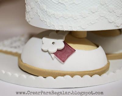 zapato fofucha primera comunion