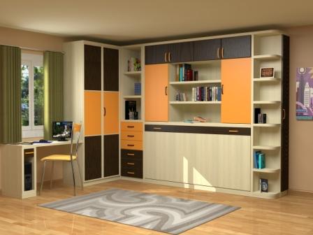 Muebles juveniles muebles infantiles muebles con - Muebles literas abatibles ...