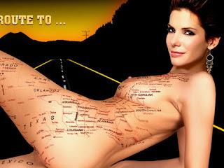 Sandra Bullock naked