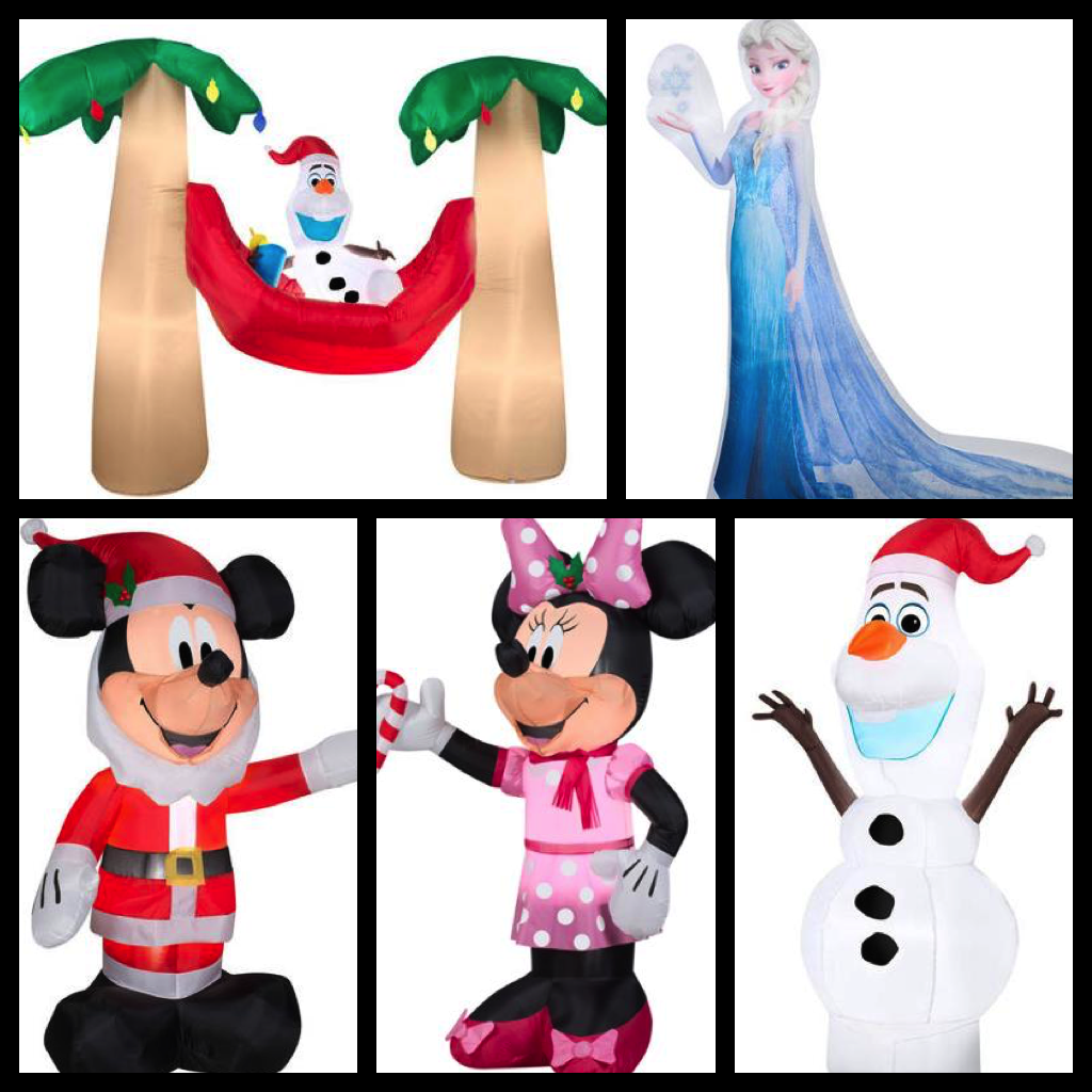 My Disney Life: Fun Find: Holiday Inflatable Fun