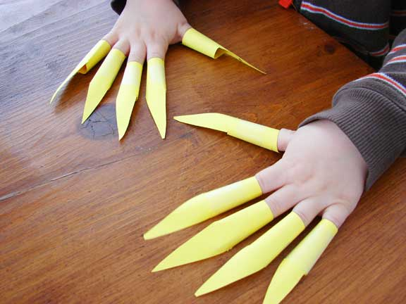 DIY claws