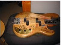 Gunz guitar costum lee sklars bass guitars sklar acquired a precision bass neck but did not have a body for the instrument carruthers made a template by using the 1962 jazz bass body and then maxwellsz