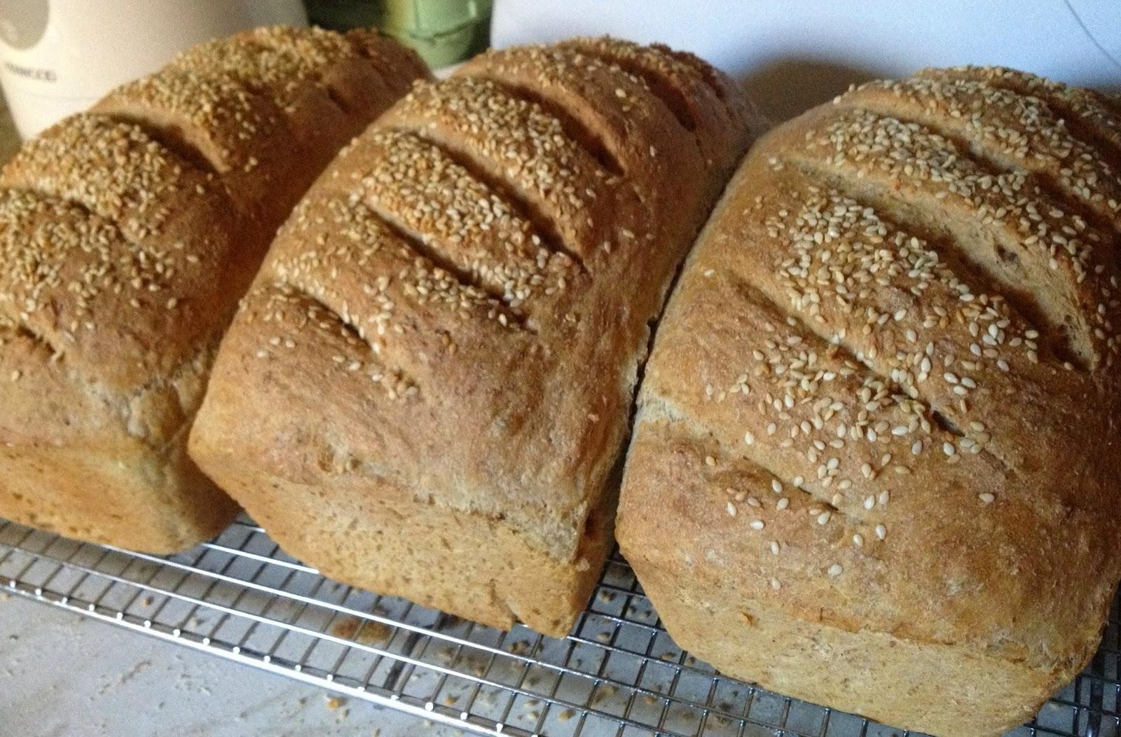 fresh homemade loaves