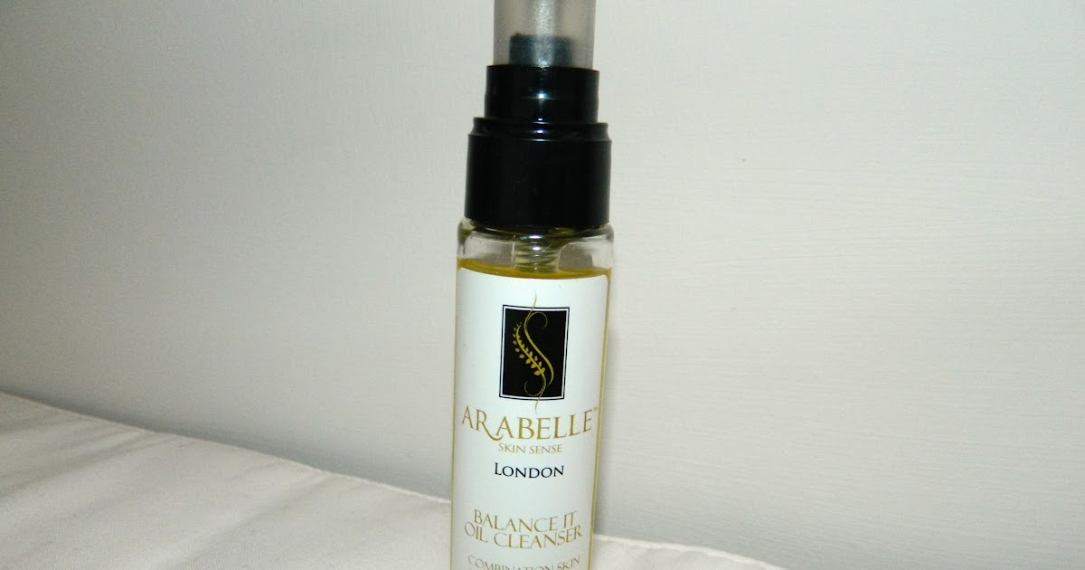 ... : Arabelle Skin Sense Balance It Oil Cleanser Review | MegBolderson
