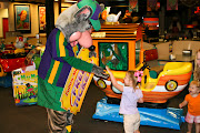 And she even met Chuck E. Cheese himself!
