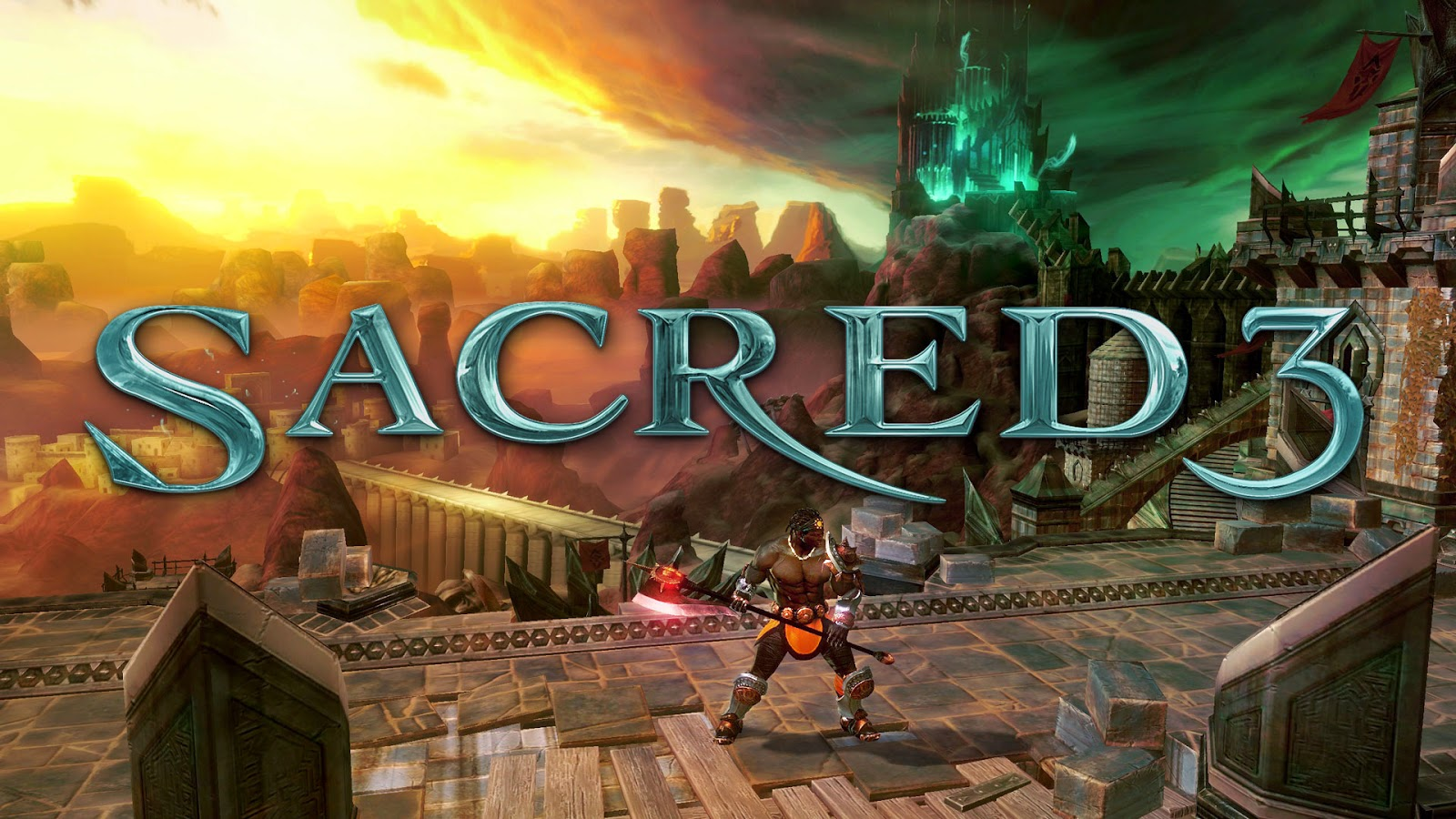 Review Game Arcade Keren Sacred 3