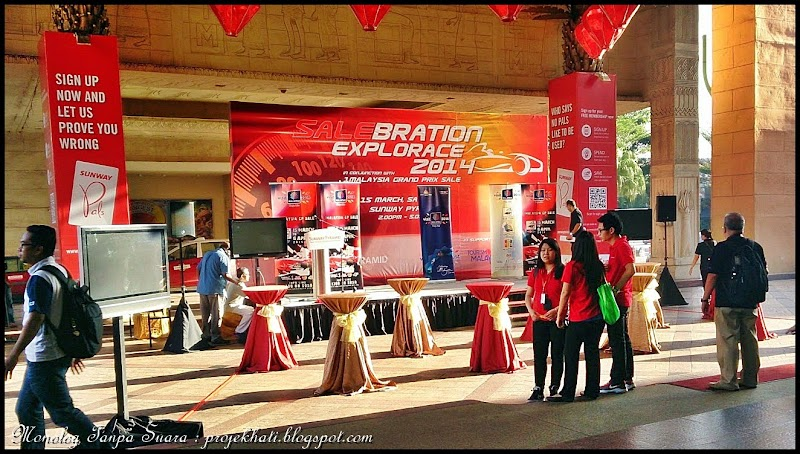 Salebration Explorace 1 Malaysia Grand Prix Sale 2014 : Sunway Pyramid