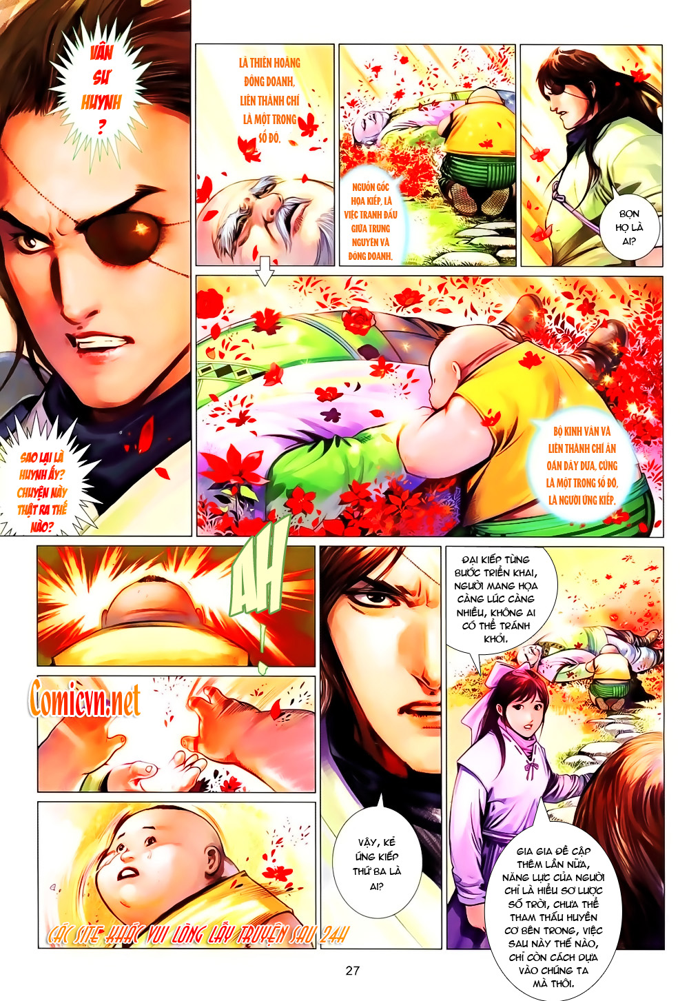 Phong Vân chap 638 Trang 22 - Mangak.info