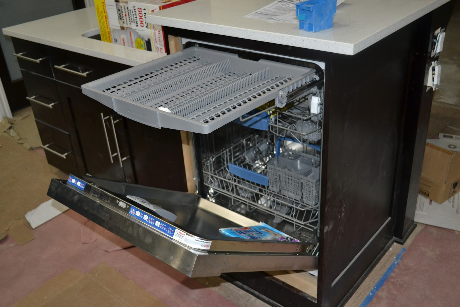 how to move a dishwasher