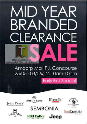 Mid Year Branded Clearance Sale 2012