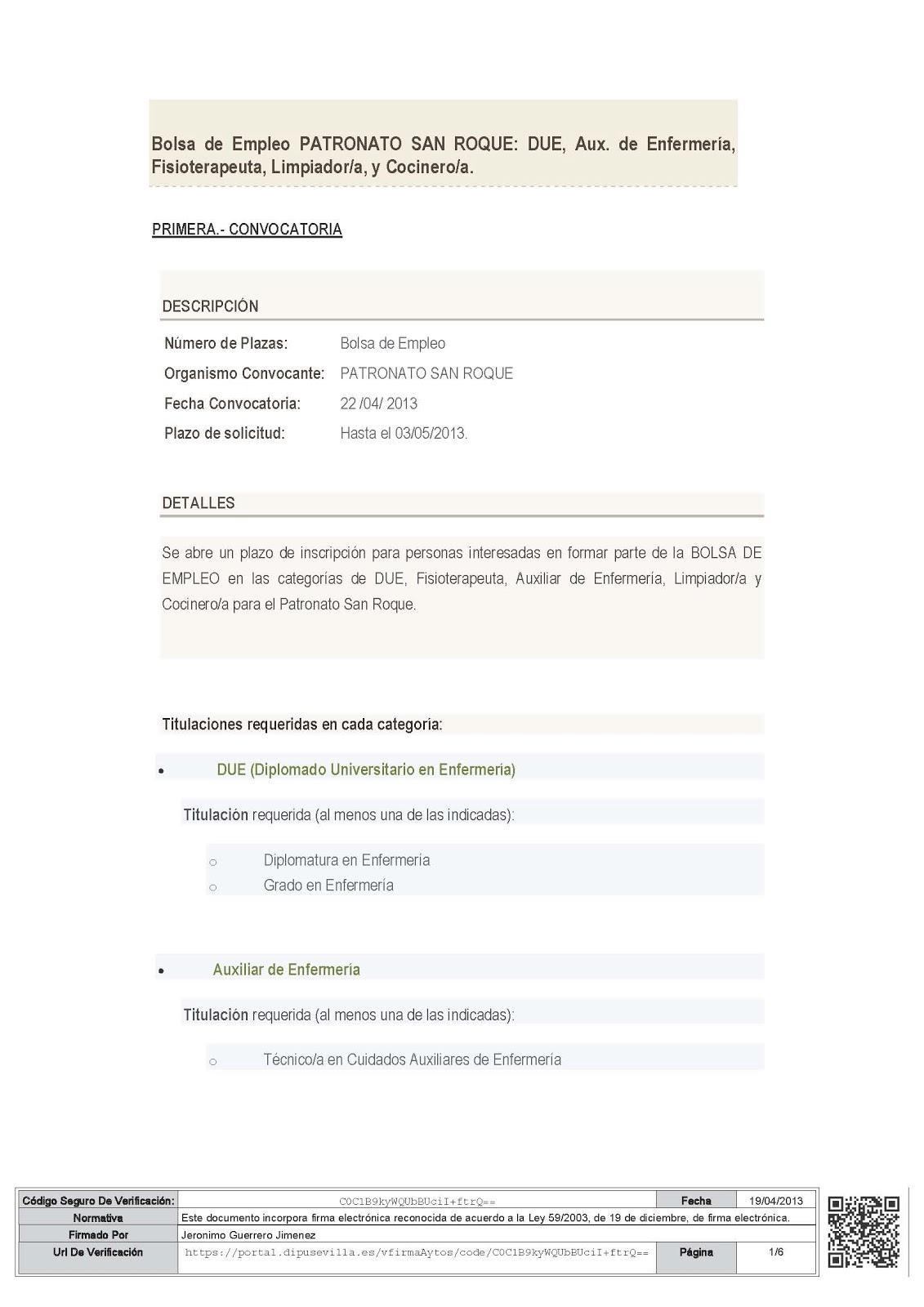 Bolsa de trabajo ofertas de empleo en turismo html autos weblog - Busco trabajo en javea ...