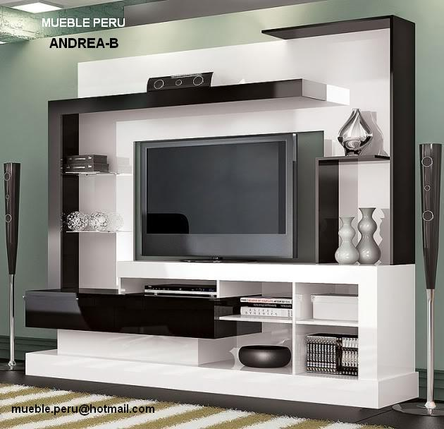 Mueble Para Tv Minimalista  Muebles y Libreros Centros de