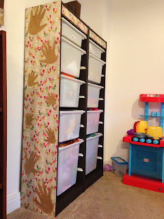Decoupage Childrens Toy Storage
