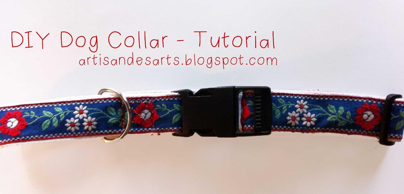Crafted home diy dog collar tutorial diy dog collar tutorial jeuxipadfo Gallery