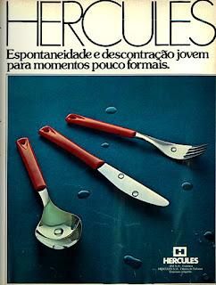 propaganda talheres Hercules - 1977