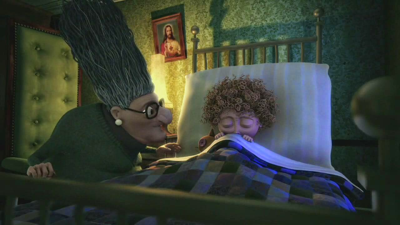 granny ogrimms sleeping beauty