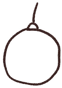 クリスマスの玉飾りのイラスト 白黒線画
