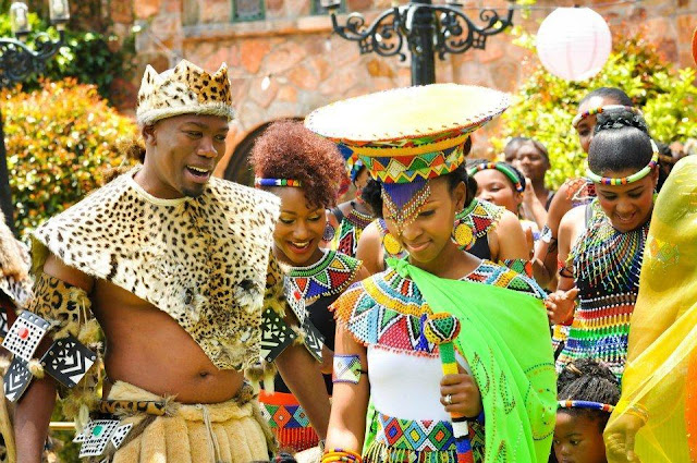 Celebrity Wedding- Generations Dineo and PhenyoZulu Culture Marriage