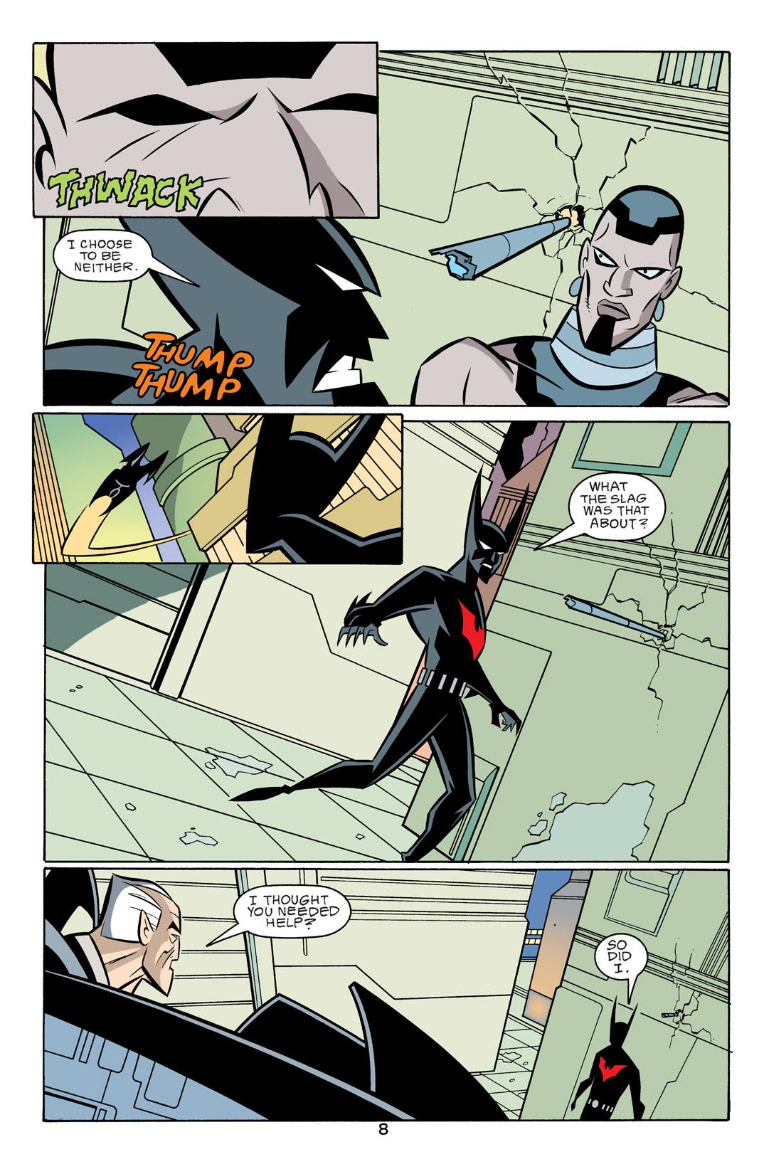 Batman Beyond [II] Issue #18 #18 - English 9