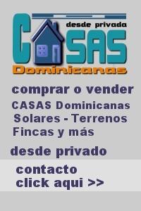 Comprar o vender Casas Dominicanas - privado