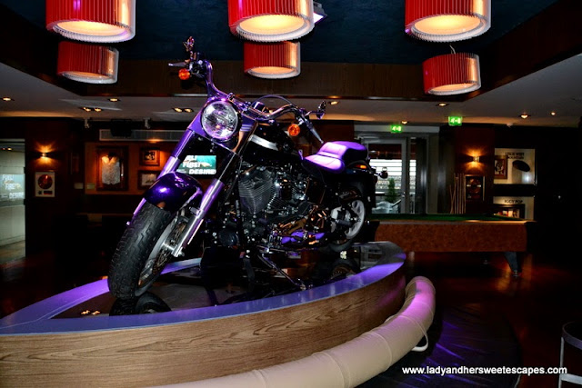Bike inside Hard Rock Cafe