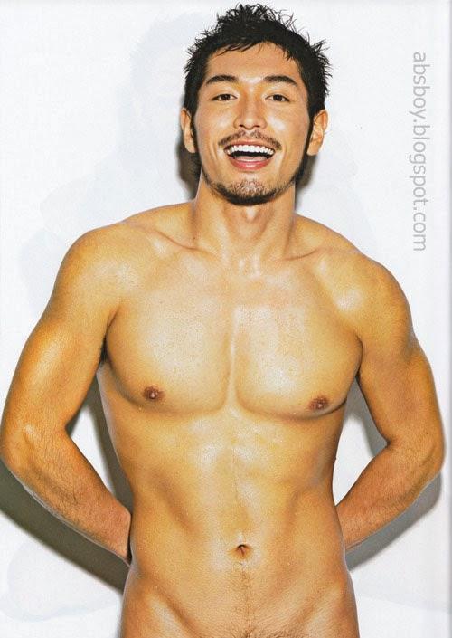 asian men shirtless photo