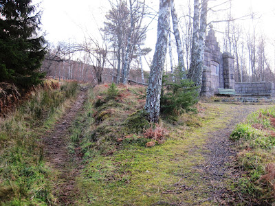 Deeside walks: walk past the monument on Pannanich