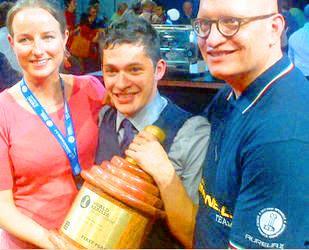 Raúl Rodas es el mejor barista del mundo