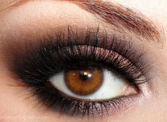 Plum Mascara For Brown Eyes hd photo