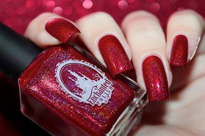 "Swatch of the nail polish ""Pandore"" by Enchanted Polish ft. Pshiiit"