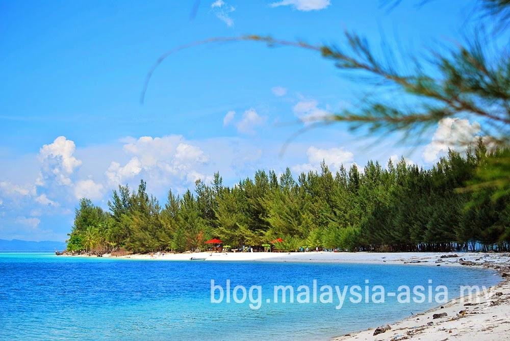 Mantanani Island Beach