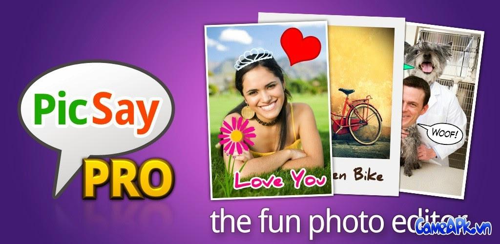 PicSay Pro – Photo Editor v1.7.0.5 Full cho Android
