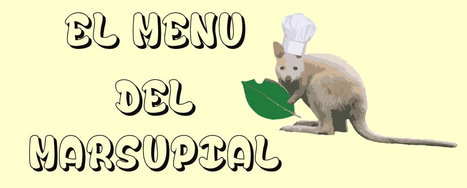 El Menú del Marsupial