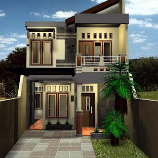 model rumah minimalis bertingkat 2