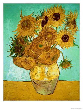 Vincent van Gogh Girasoles