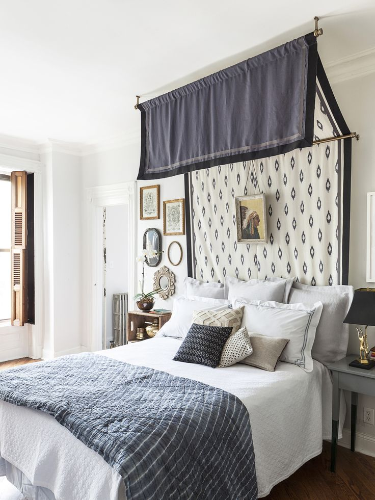 And then there is a style of bed cover based upon the idea of a four poster bed particularly the large flat panel known as a  tester  (TEE-stir) suspended ... & Fiorito Interior Design: When Itu0027s NOT A Four Poster Bed