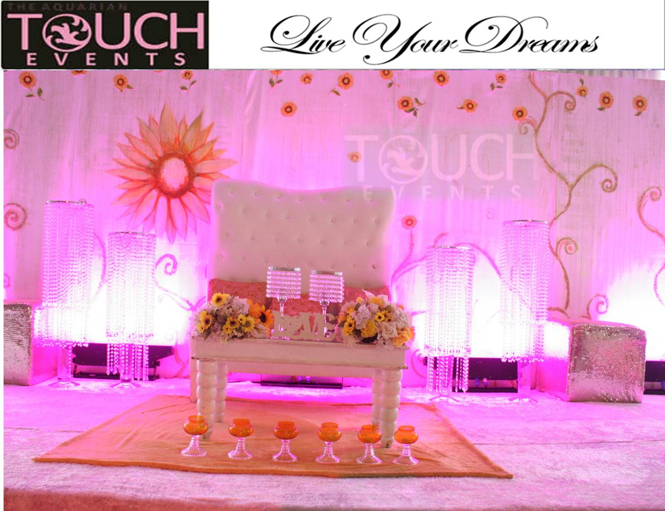 AQUARIAN TOUCH EVENTS NG: SUNFLOWER THEMED WEDDING
